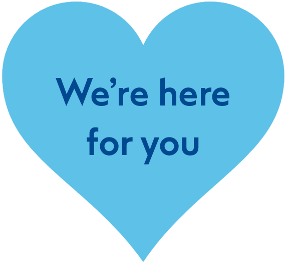 were here for you