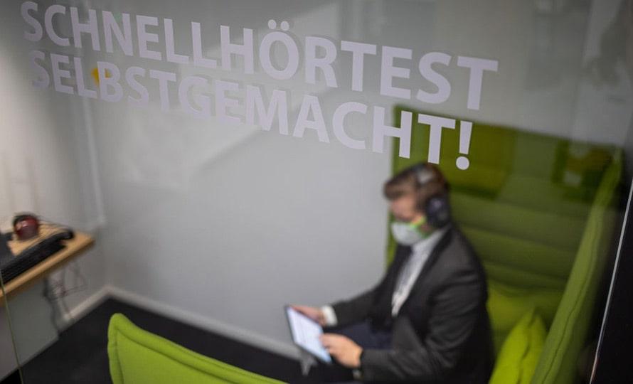 World of Hearing Schnellhörtest