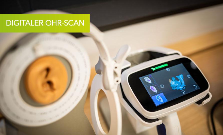 Digitaler Ohr-Scan