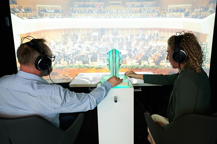World of Hearing Hörerlebnisraum