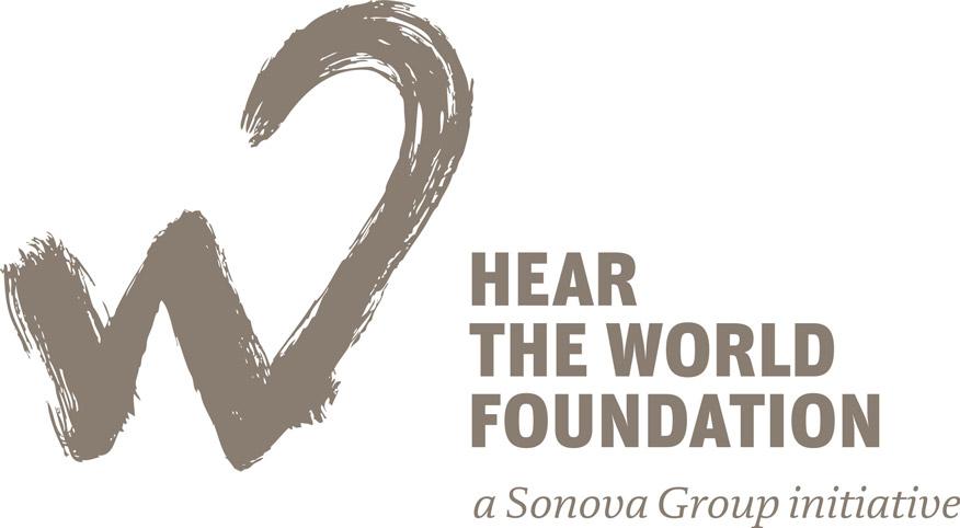 Hear the world foundation logo